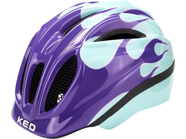 KED Meggy II Trend Casco Bambino, flame lilac mint